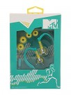 MTV Sports Earphones(sporta austiņas)  MTV1777 teal/yellow